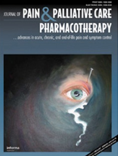 JOURNAL OF PAIN & PALLIATIVE CARE PHARMACOTHERAPY
