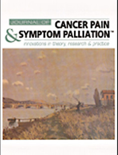 JOURNAL OF CANCER PAIN AND SYMPTOM PALLIATION