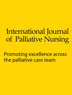 INTERNATIONAL JOURNAL OF PALLIATIVE NURSING