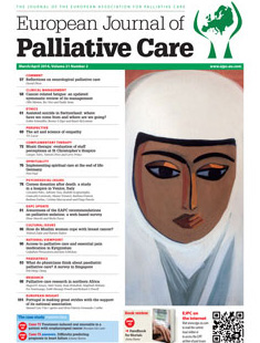 EUROPEAN JOURNAL OF PALLIATIVE CARE