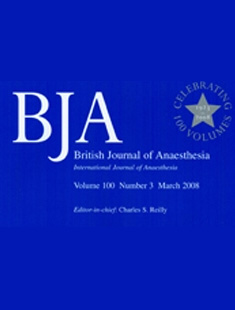 BRITISH JOURNAL OF ANAESTHESIA