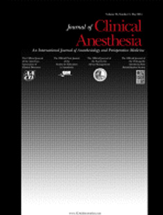 AMERICAN JOURNAL OF ANESTHESIA