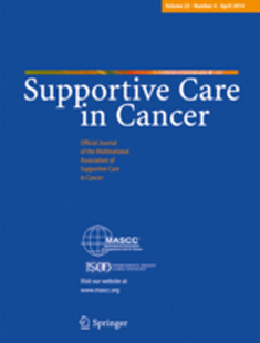 SUPORTIVE CARE IN CANCER